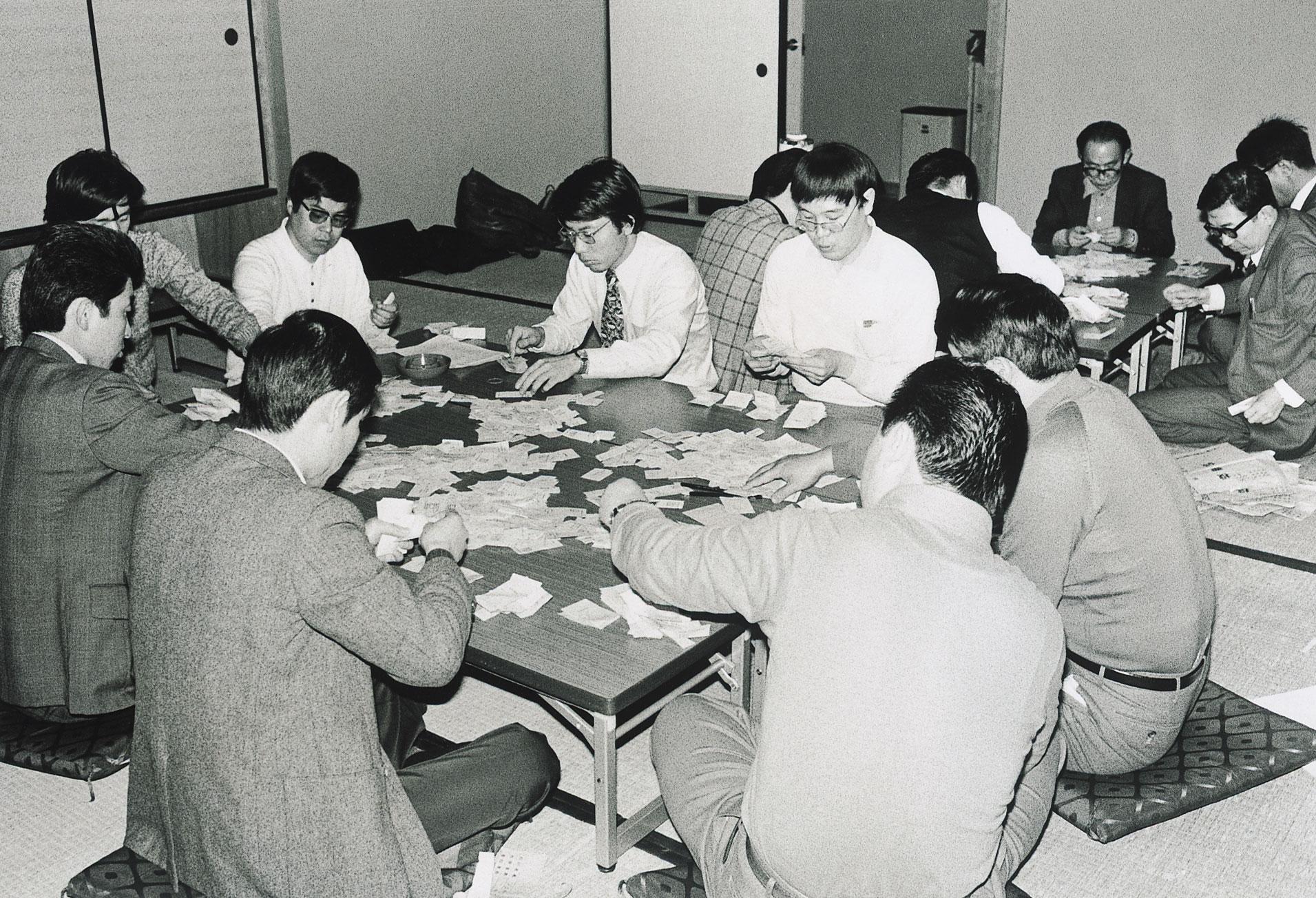 77国民春闘スト批准投票