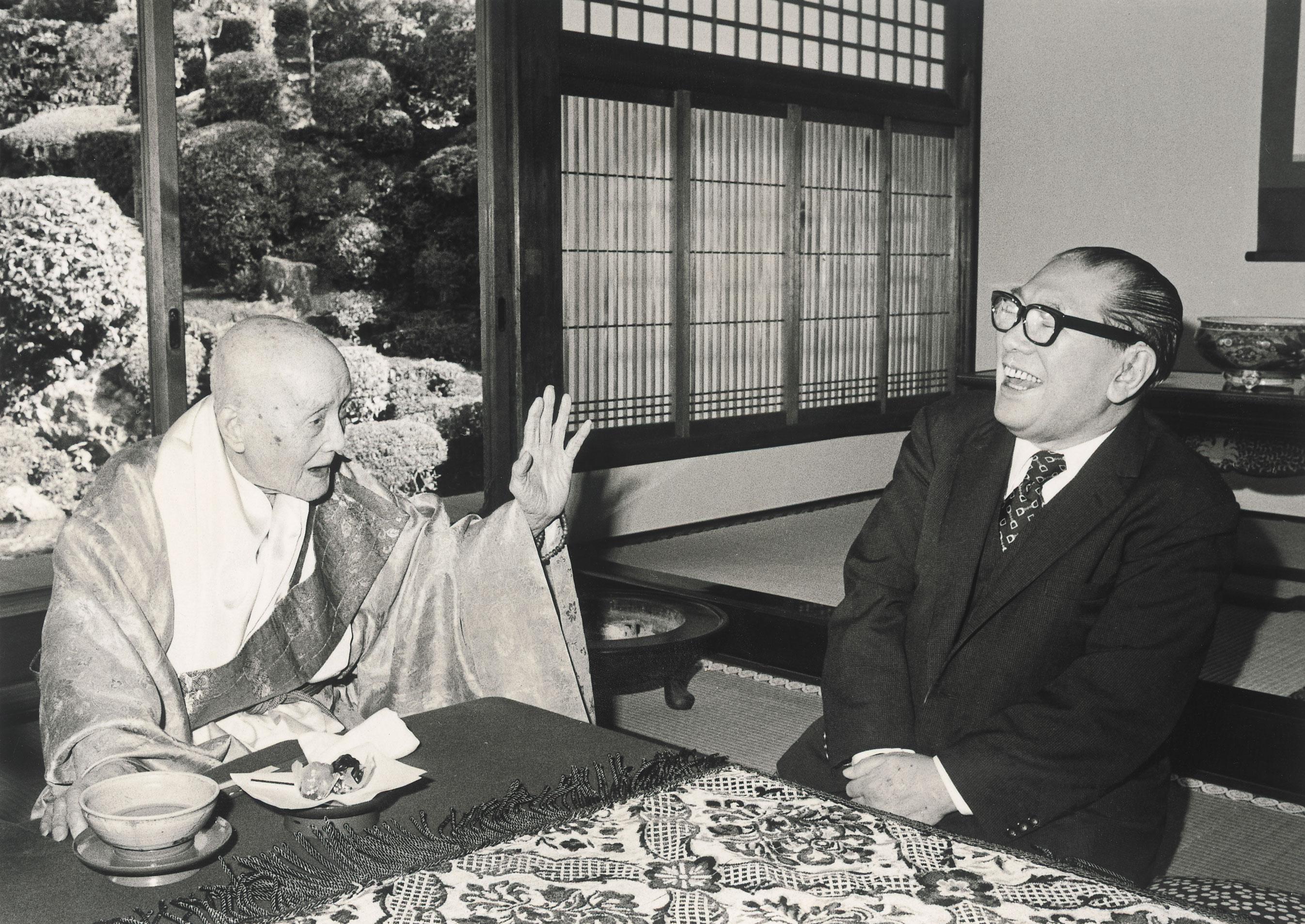 清水寺住職大西良慶さん