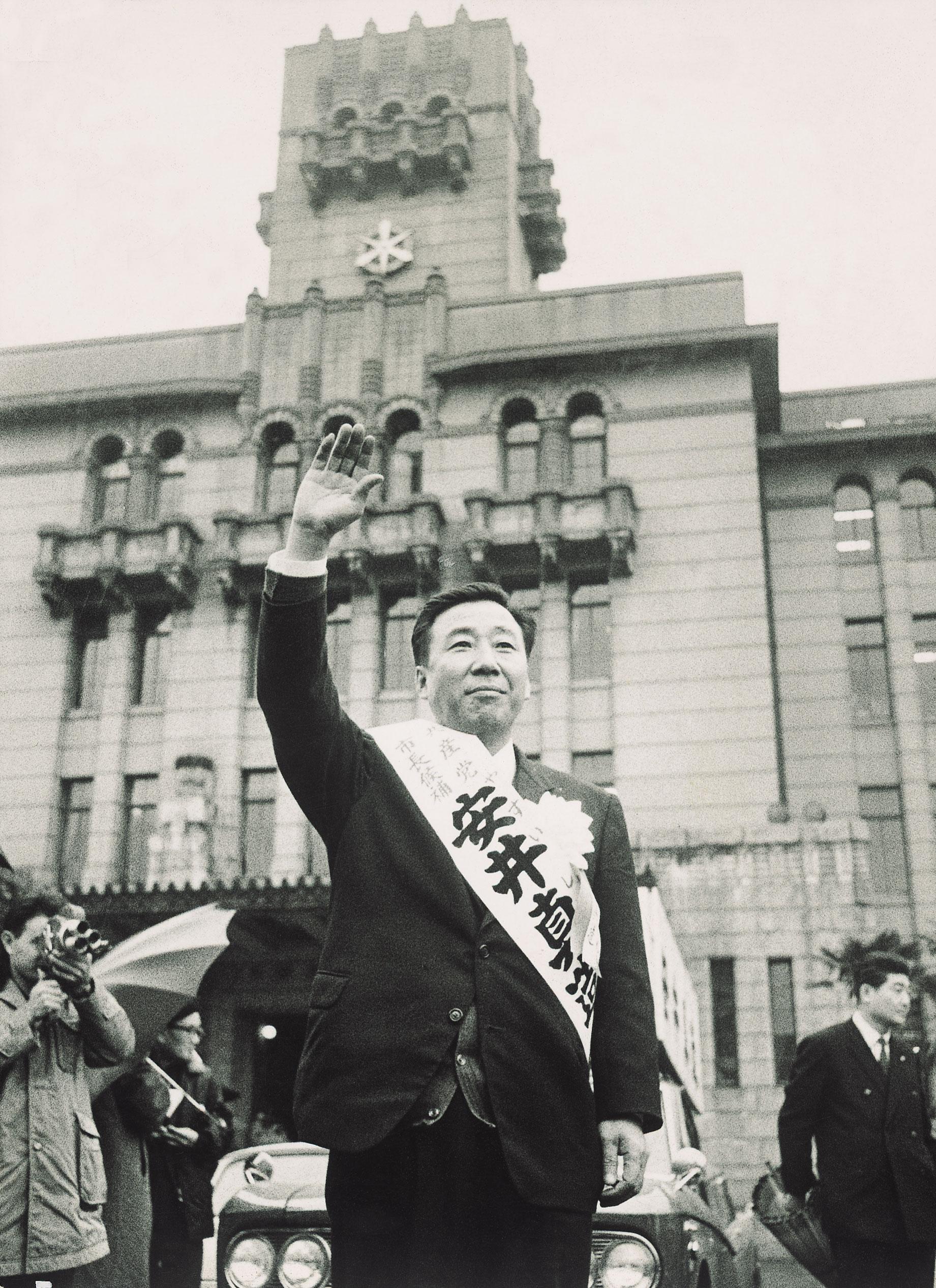 京都市長候補安井真造氏