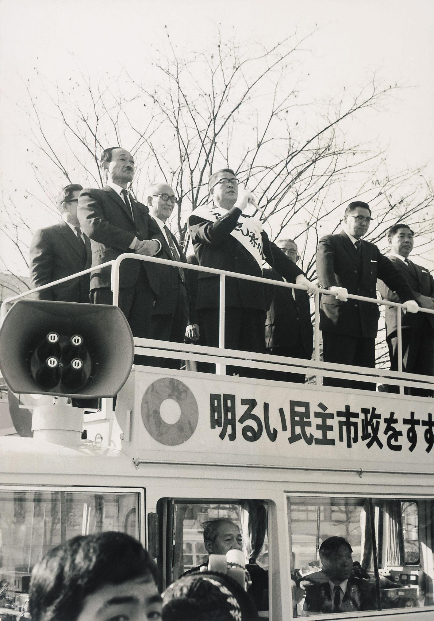 京都市長候補舟橋求己氏